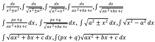 syllabus 12 maths integrals